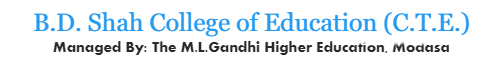 B.D. Shah College of Education (CTE)